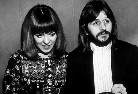 Ringo Starr And Wife Maureen Circa 1970