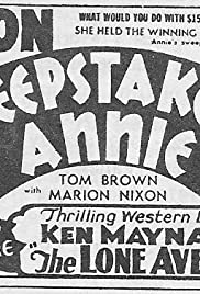 Sweepstake Annie Poster