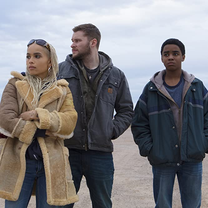Zoë Kravitz, Jack Reynor, and Myles Truitt in Kin (2018)