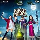 Saif Ali Khan, Arjun Kapoor, Jacqueline Fernandez, and Yami Gautam in Bhoot Police (2021)
