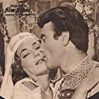 Gianna Maria Canale and Francisco Rabal in La Gerusalemme liberata (1957)