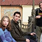 Michelle Trachtenberg, Jacob Pitts, and Scott Mechlowicz in EuroTrip (2004)