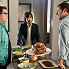 Adam Sandler, Jason Schwartzman, and Jonah Hill in Funny People (2009)