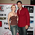 """Erin Carufel and Scott Connors at the L.A. premiere of """"Lime Salted Love""""."""