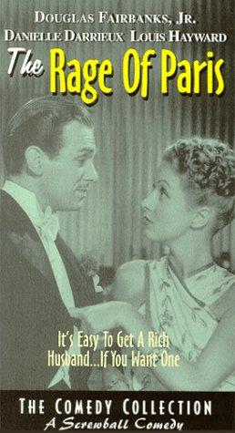 Douglas Fairbanks Jr. and Danielle Darrieux in The Rage of Paris (1938)