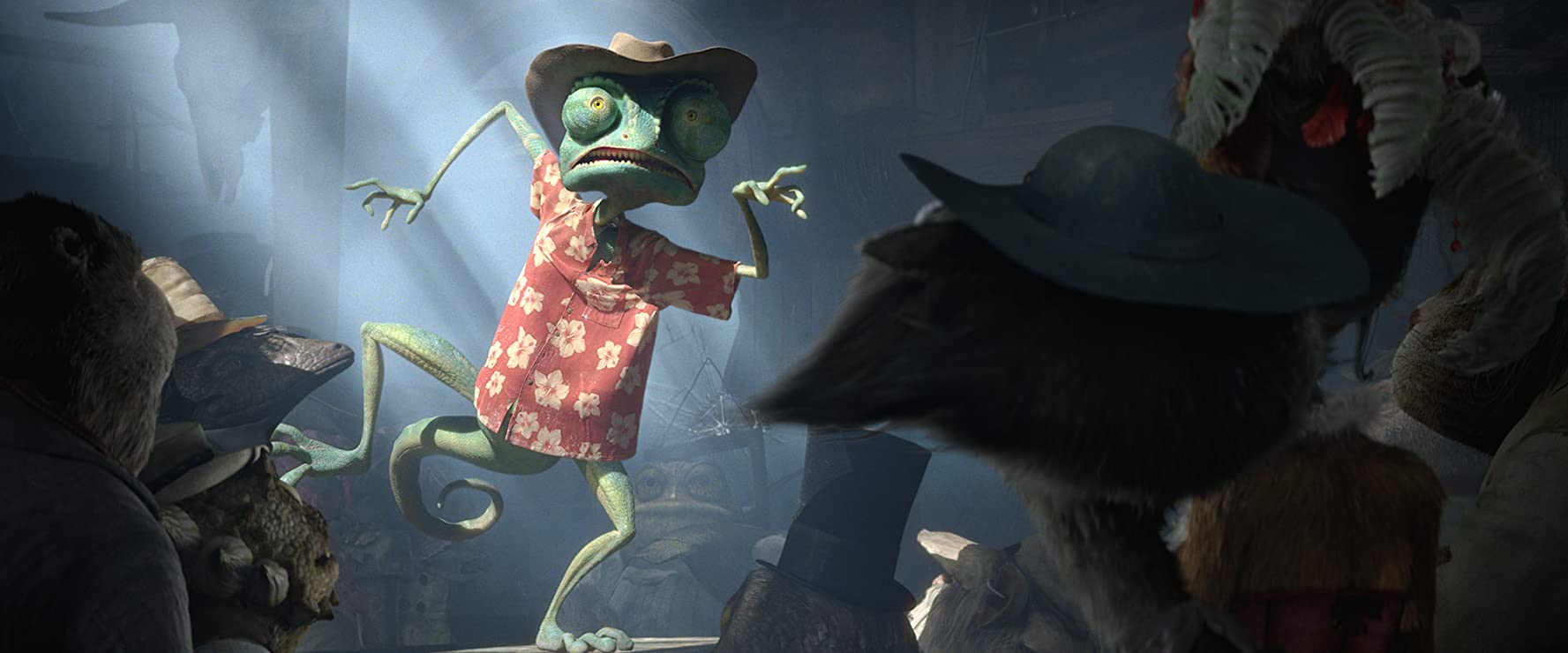 Johnny Depp in Rango (2011)