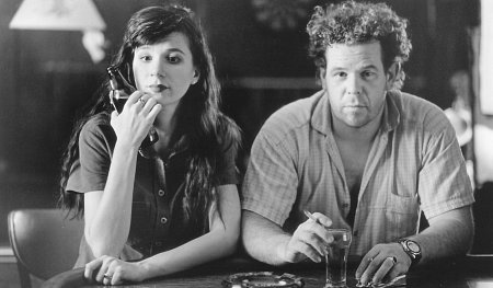Eszter Balint and Mark Boone Junior in Trees Lounge (1996)