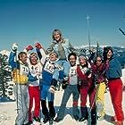 Patrick Houser, Frank Koppala, David Naughton, James Saito, Tracy Smith, George Theobald, and Lynn Wieland in Hot Dog ...The Movie (1983)
