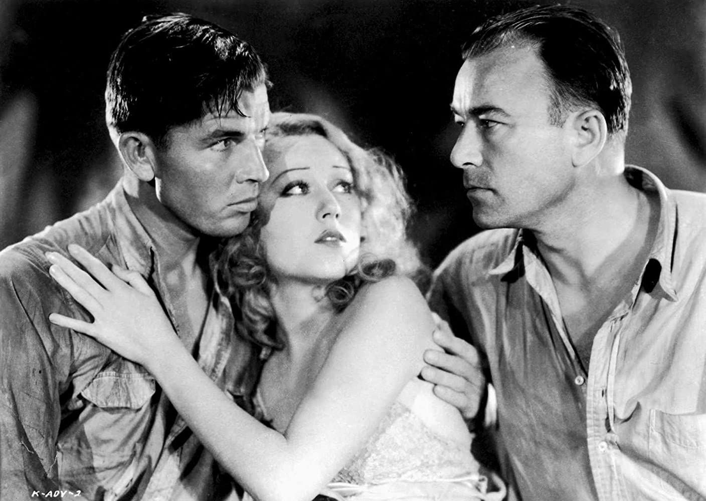 Robert Armstrong, Bruce Cabot, and Fay Wray in King Kong (1933)