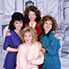 Annie Potts, Delta Burke, Jean Smart, and Dixie Carter in Designing Women (1986)