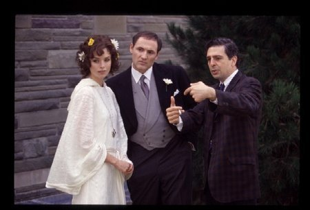 Jerry Ciccoritti, Colm Feore, and Polly Shannon in Trudeau (2002)