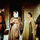 Katharine Hepburn, Anthony Hopkins, Peter O'Toole, and Jane Merrow in The Lion in Winter (1968)