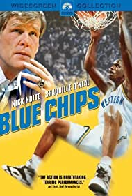 Nick Nolte and Shaquille O'Neal in Blue Chips (1994)