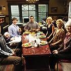 Martha Plimpton, Cloris Leachman, Garret Dillahunt, Greg Germann, Valerie Mahaffey, Lucas Neff, Baylie Cregut, and Rylie Cregut in Raising Hope (2010)