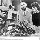 Mel Welles, Charles B. Griffith, Jonathan Haze, and Jackie Joseph in The Little Shop of Horrors (1960)
