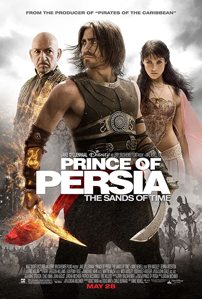 Ben Kingsley, Jake Gyllenhaal, and Gemma Arterton in Prince of Persia: The Sands of Time (2010)