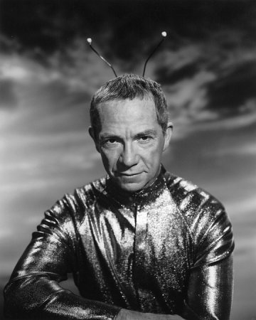 Ray Walston Film Set  CBS My Favorite Martian 1965 0056775