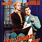 Kirk Douglas and Laraine Day in My Dear Secretary (1948)