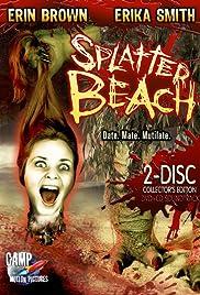 Splatter Beach Poster
