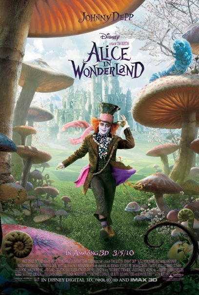 [PG] Alice in Wonderland (2010) English Blu-Ray - 480P | 720P - x264 - 300MB | 900MB - Download & Watch Online  Movie Poster - mlsbd