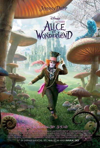 Alice in Wonderland (2010) BluRay 480p, 720p & 1080p