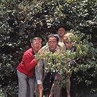 Mickey Rooney, Buddy Hackett, Edie Adams, and Sid Caesar in It's a Mad Mad Mad Mad World (1963)