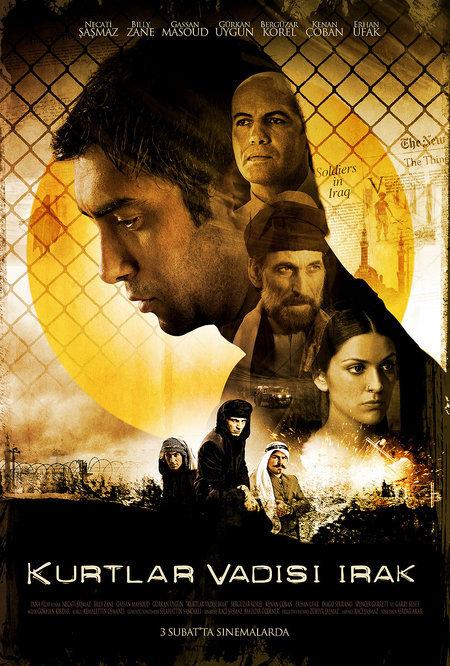 Billy Zane, Ghassan Massoud, Necati Sasmaz, Gürkan Uygun, Erhan Ufak, Kenan Çoban, and Bergüzar Korel in Kurtlar Vadisi: Irak (2006)