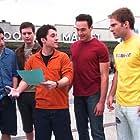 Jason Biggs, Chris Klein, Thomas Ian Nicholas, Seann William Scott, and Eddie Kaye Thomas in American Pie 2 (2001)