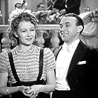 Natasa Gollová and Frantisek Paul in Dívka v modrém (1940)