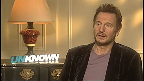 Unknown: Liam Neeson and January Jones