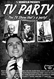TV Party Poster