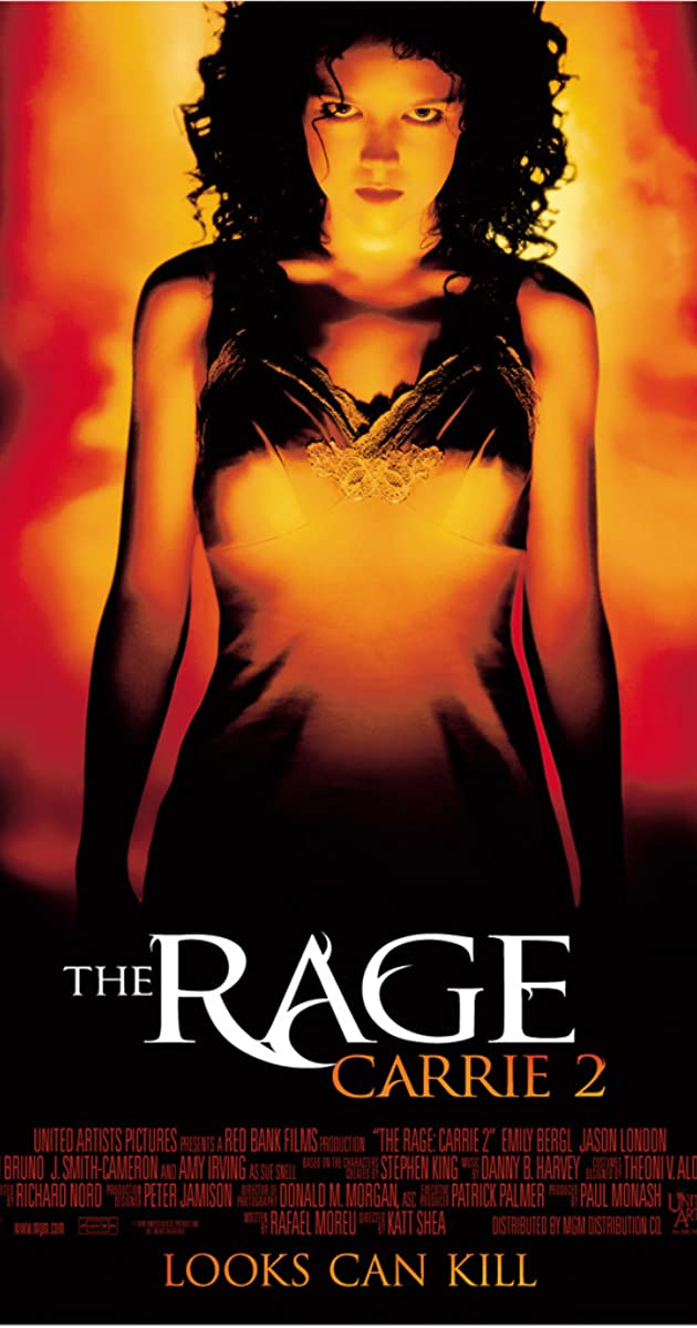 Subtitle of The Rage: Carrie 2