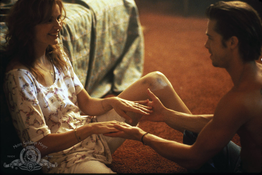 Image result for g davis and b pitt in thelma and louise love scene