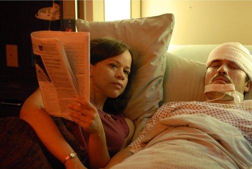 John Leguizamo and Rosie Perez in The Take (2007)