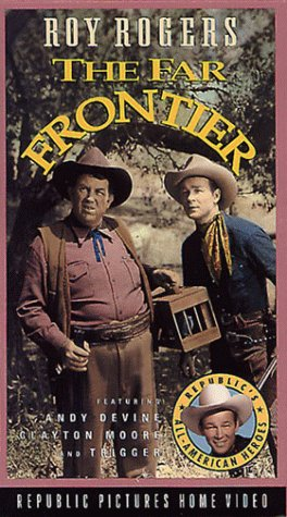 Roy Rogers and Andy Devine in The Far Frontier (1948)