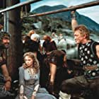Kirk Douglas, Ernest Borgnine, and Janet Leigh in The Vikings (1958)