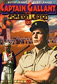 Captain Gallant of the Foreign Legion Poster