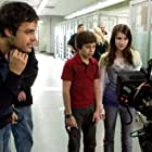 Thor Freudenthal, Emma Roberts, and Jake T. Austin in Hotel for Dogs (2007)