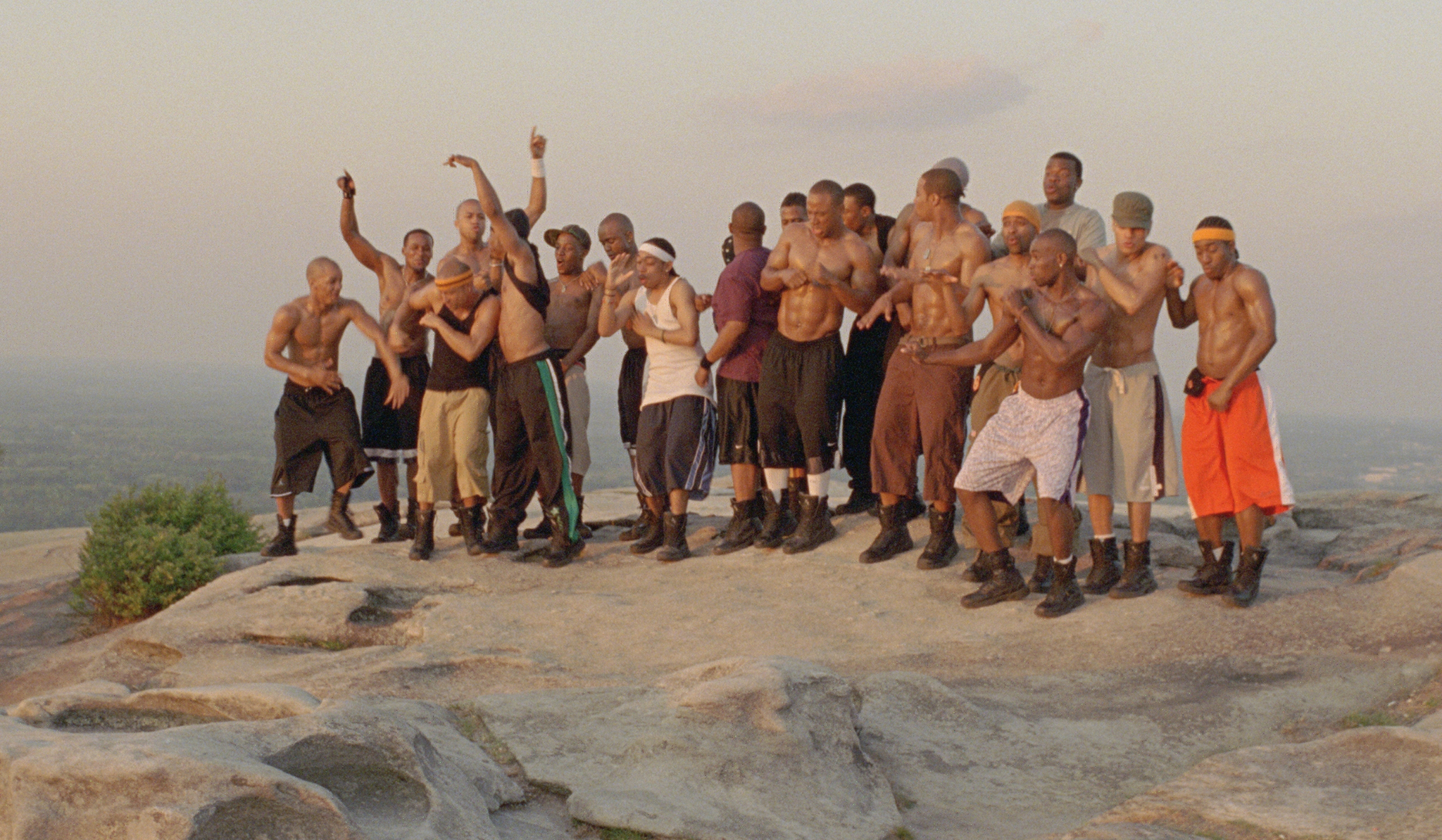 Sahr Ngaujah, Brian White, Columbus Short, Duain Richmond, Ne-Yo, Christopher Toler, Justin Hires, and Roderick Thomas in Stomp the Yard (2007)