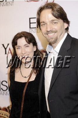 "Red Carpet event with LIZZIE cast & crew. Matthew Irving and wife Cindy Baer at ""The Anniversary At Shallow Creek"" Private VIP Screening at DGA Theater on November 4, 2010 in Los Angeles, California."