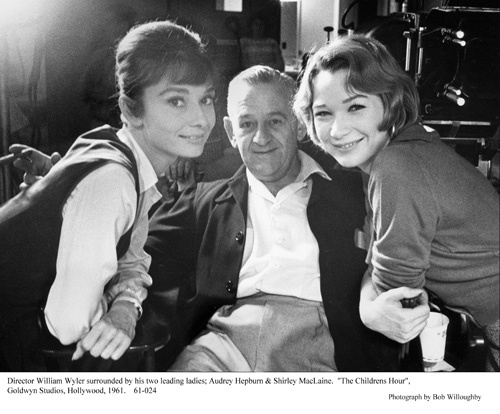 """Children's Hour, The"" Audrey Hepburn, William Wyler, Shirley MacLaine 1961 / UA"