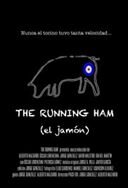 The Running Ham Poster