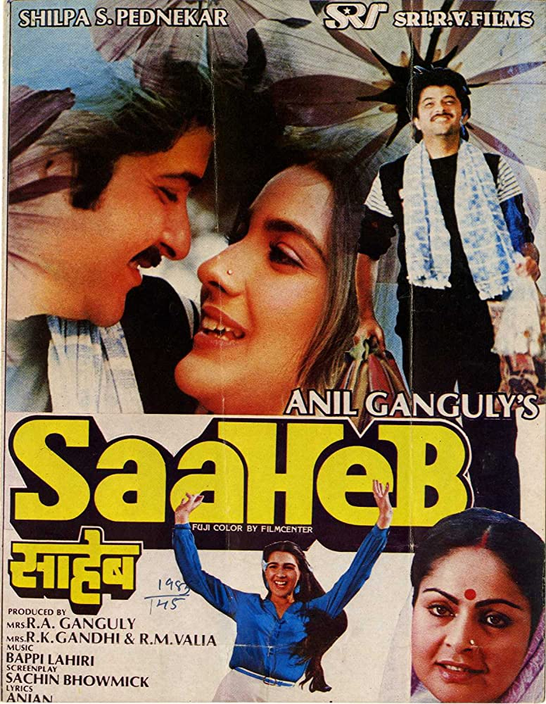 Saaheb 1985 Hindi 720p HDRip ESubs 950MB Download
