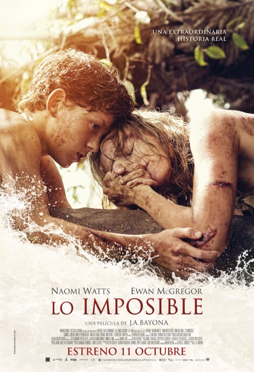 The Impossible (2012) Dual Audio 400MB BluRay 480p x264 ESubs Downlaod