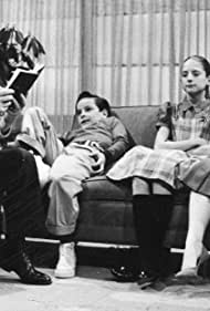 Eddie Bracken, Alice Ghostley, Dennis Olivieri, and Tirrell Barbery in General Motors 50th Anniversary Show (1957)
