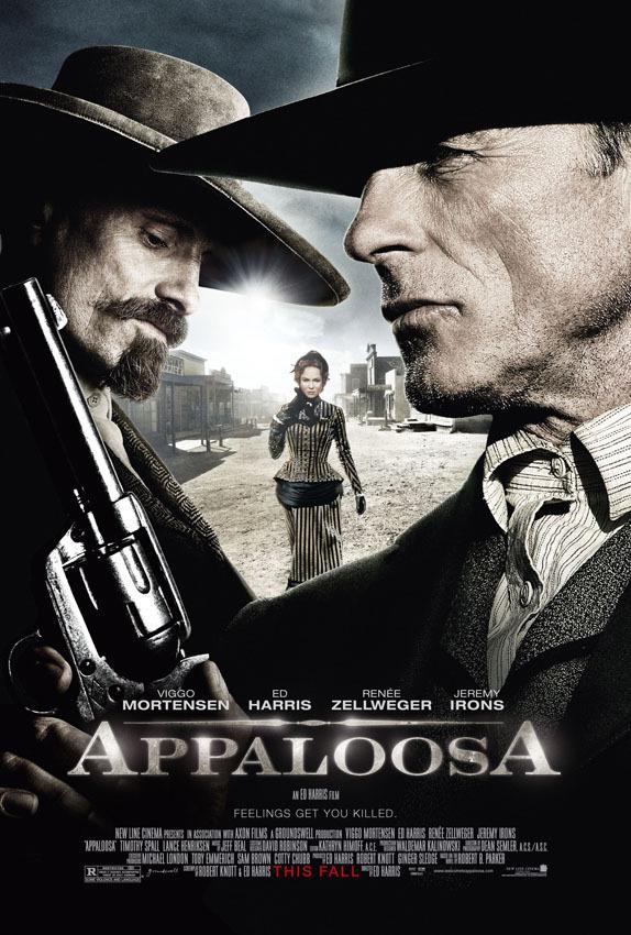 Renée Zellweger, Ed Harris, and Viggo Mortensen in Appaloosa (2008)