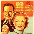 Edward Arnold, Walter Huston, and Simone Simon in All That Money Can Buy (1941)