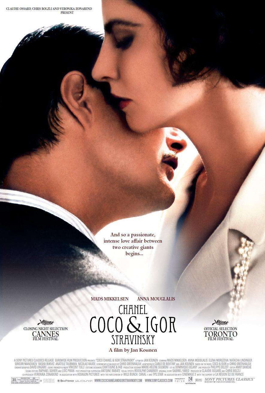 Chanel coco and igor stravinsky film review