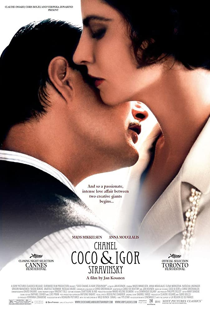 18+ Chanel Coco And Igor Stravinsky 2009 English 370MB Bluray Download