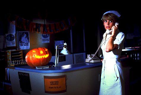 Tawny Moyer in Halloween II (1981)